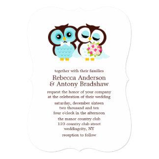 Wedding Owls Card