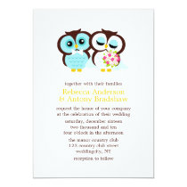Wedding Owls Card
