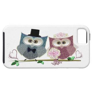 Wedding Owls Electronic iPhone Case iPhone 5 Case