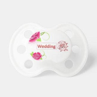 wedding pacifier