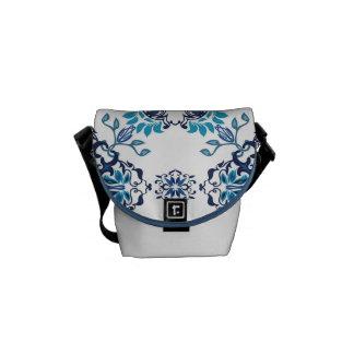 Wedding paisley tradition elegant pattern messenger bag