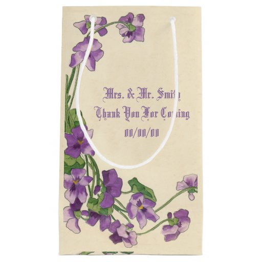 Small Wedding Gift Bag Ideas : wedding paper bags,favours bag,wedding gift small gift bag Zazzle