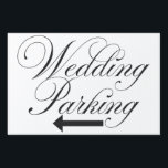 "&quot;Wedding Parking&quot; Outdoor yard sign<br><div class=""desc"">&quot;Wedding Parking&quot; Outdoor yard sign. Perfect for your outdoor wedding! Wording says,  &quot;Wedding Parking&quot; with arrow pointing to where your guests can park safely! Be sure to add the H Frame if required!</div>"