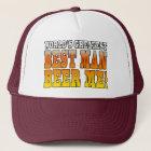 Wedding Parties Favors : Worlds Greatest Best Man Trucker Hat
