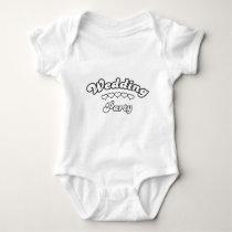 wedding party baby bodysuit