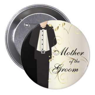 Wedding Party Button Pins