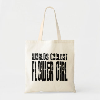 Wedding Party Favors Worlds Coolest Flower Girl Tote Bags