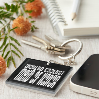 Wedding Party Favors Worlds Coolest Maid of Honor Single-Sided Square Acrylic Keychain