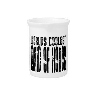 Wedding Party Favors Worlds Coolest Maid of Honor Beverage Pitchers