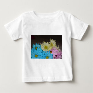 Wedding Party Flowers Daisy Peace Love Destiny Baby T-Shirt