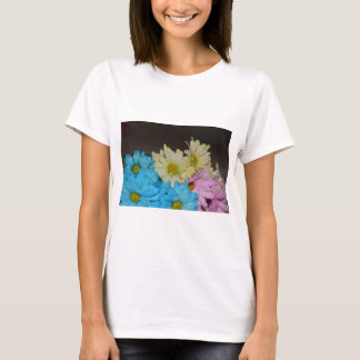 Wedding Party Flowers Daisy Peace Love Destiny T-Shirt