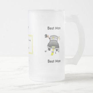 Wedding Party Glass Beer Mug