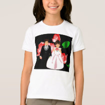 "Wedding Party III ""Flower Girl"" T-Shirt-Customized T-Shirt"