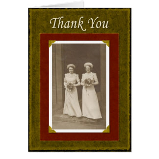 Wedding Party Thanks - FUNNY Card