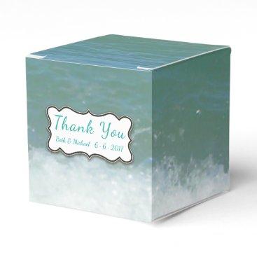 Wedding/Party Tropical Beach Favor Box