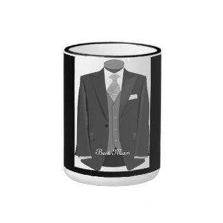 Wedding Party Tuxedo Best Man Coffee Mug   Gift
