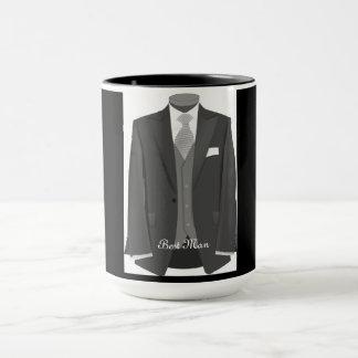 Wedding Party Tuxedo Best Man Mug Gift