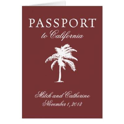 Wedding Passport Invitation to Dominican Republic   Zazzle.com