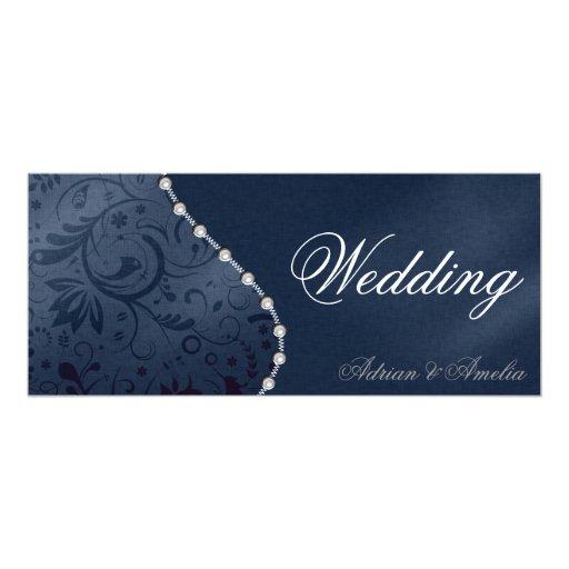 Wedding Pearl Invitation 10 Cm X 24 Cm Invitation Card