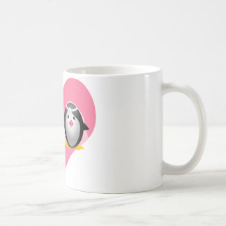 Wedding Penguins Coffee Mug