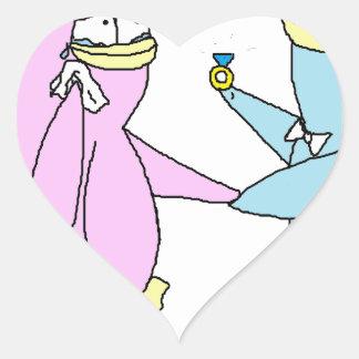 Wedding Penguins Sticker