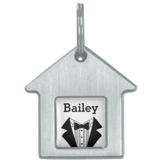 Wedding Pet Tag
