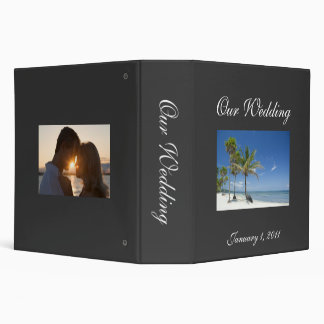 Wedding Photo Album 3 Ring Binders