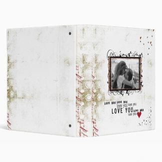 wedding photo album vinyl binder