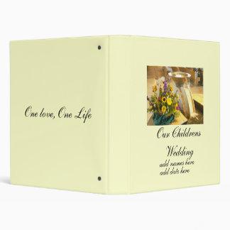 Wedding, Photo Album, Parents Album 3 Ring Binder