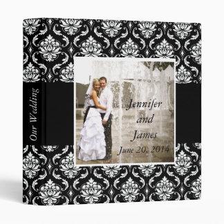 Wedding Photo Damask Keepsake Album 3 Ring Binder