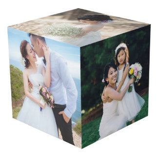Wedding Photo Display Cube