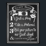 "Wedding photo guest book sign chalkboard<br><div class=""desc"">chalkboard sign copyright Leanne of The arty Apples</div>"