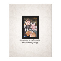 Wedding Photo ~ Guest Signature Canvas Print