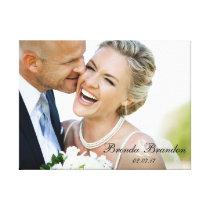 Wedding Photo Keepsake Canvas