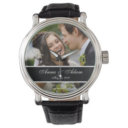 Wedding Photo Keepsake Watch