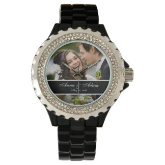 Wedding Photo Keepsake Wrist Watch