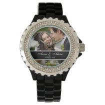 Wedding Photo Keepsake Wristwatch