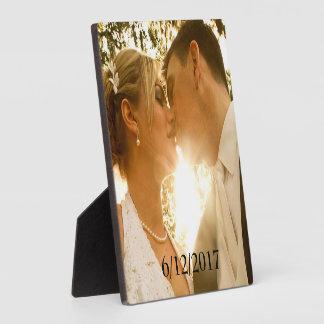 Wedding Photo Plaque