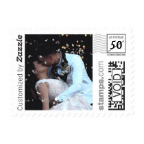 Wedding Photo Postage PhotoStamp by Stamps.com
