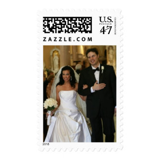 Wedding Photo Postage Stamps