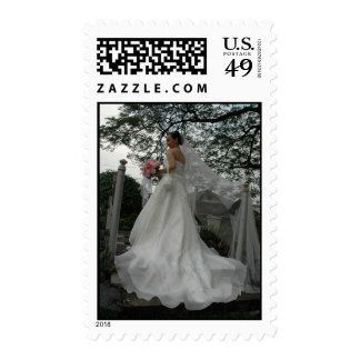 Wedding Photo Postage Stamps