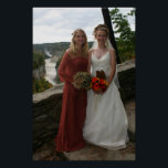 "Wedding Photo Poster<br><div class=""desc"">Kimmy &amp; Krissy</div>"