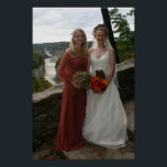 "Wedding Photo Poster<br><div class=""desc"">Kimmy &amp; Krissy</div>"
