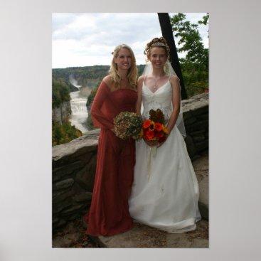GreenBusAdventures Wedding Photo Poster