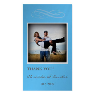 Wedding Photo Sharing Card Business Cards