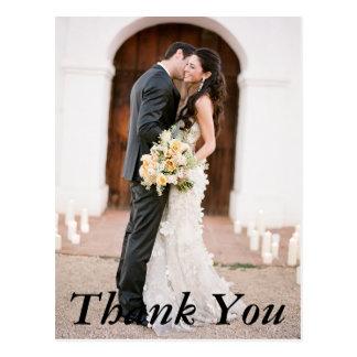 Wedding Photo Thank You Postcard