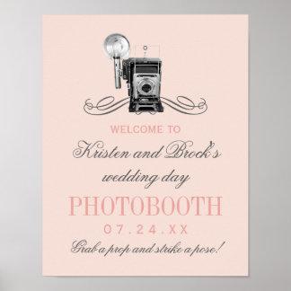 Wedding Photobooth Sign | Vintage Camera