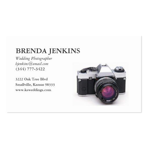 Wedding Photographer Business Card... - Customized