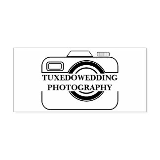 Wedding Photographer Camera Icon Self-inking Stamp