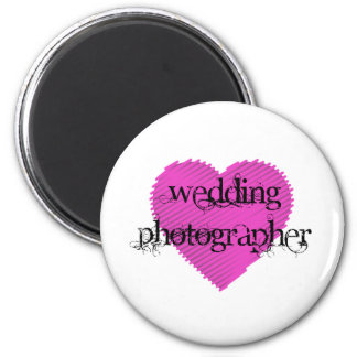 Wedding Photographer Magnet